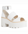 Puffy Women's Sandals white