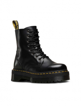 Dr. Martens Jadon Anfibi Donna Black Polished