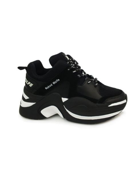 Naked Wolfe Track Women's Sneakers Blk Blk Cbo