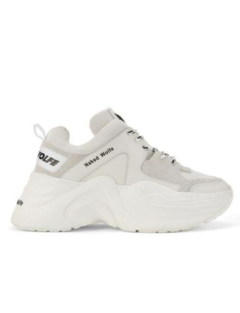 Naked Wolfe Track Sneakers Donna Wht Cbo