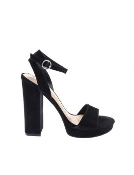 Gesture Woman's Sandals Suede Black