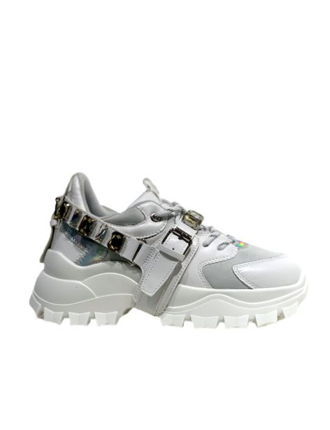 GBDS2167 Woman's Running White