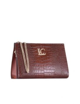 102P-RA-192-COC Woman's Ophelia Clutch Leather