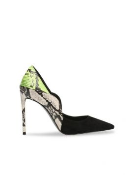 PROMOTION KID Woman's Shoes Suede/Synth Black Multi