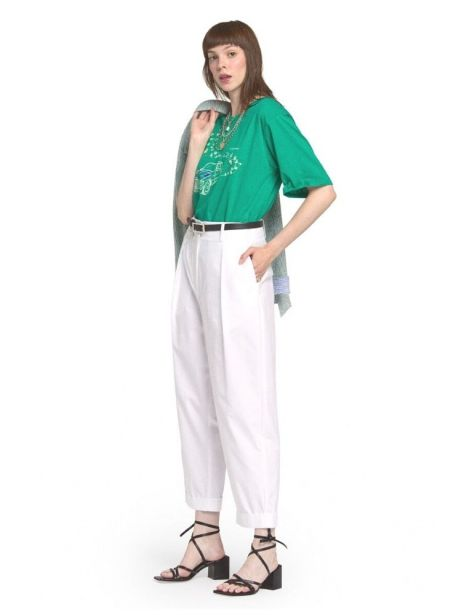 DP8829 Woman's Pants White