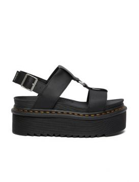 SANDAL-FRANCIS Donna Black Hydro Leather