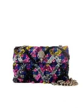 Sequins Mini Kens Bag Purple