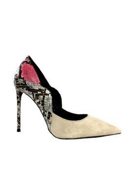 PROMOTION KID Woman's Shoes Suede/Synth Nude Multi