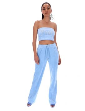 Woman's TINA TRACK PANTS Powder Blue