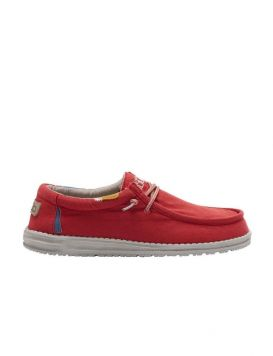 WALLY WASHED Man's Shoes Molten Lava