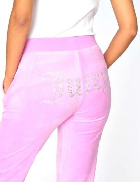 Woman's DEL RAY Diamante Track Pant Orchid